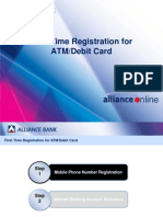 Registration Guide for ATM/Debit Card-Alliance Bank