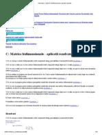 Informatica - Matrice Multidimensionale_ Aplicatii Rezolvate