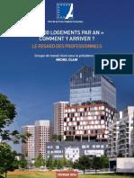 Propositions du Groupe de travail « 70000 logements par an