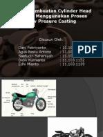 71658044 Proses Pembuatan Cylinder Head