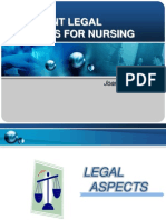Legal Aspect of Nursing Profession