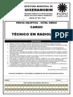 Prova de Radiolode Quixerabobim