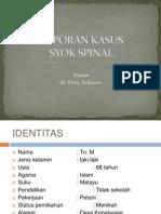 Case Syok Spinal