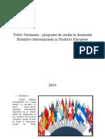 Curricula Germaniei de Relatii Internationale Si Studii Europene12