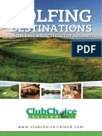 Great Golfing Destinations in the East & South East of Ireland