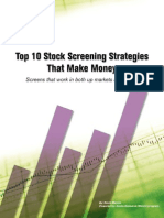 Zacks Strategies - screeners