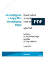 A Practical Approach to Verifying RFICs With Fast Mismatch Analysis