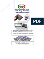 Instruction Manual for Start-Stop System SSTSVer10.0-new1