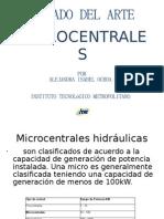 Estado Del Arte Microcentrales