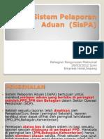 Sistem Pelaporan Aduan (SisPA)