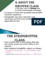 String Buffer class