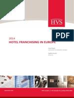 HVS - Hotel Franchising in Europe 2014