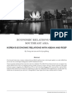 Korea's Economic Relations with ASEAN and RCEP