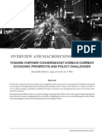 Toward Further Convergence? Korea's Current Economic Prospects and Policy Challenges