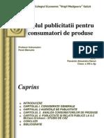 Rolul Publicitatii DANY