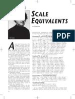 Scale Equivalents