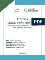 Proyecto Ciencia de Los Materiales 2014
