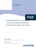 SOCOMEC White Paper for Planning a DATA CENTRE Electrical Infrastructure
