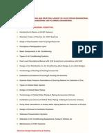 Mep Design Engineering and Drafting Consist of Hvac Design Engineering