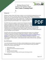 Michigan Workforce Development Agency Skilled Trades Training Fund (STTF)