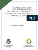 Proyecto Ley Regulacion Perito Judicial