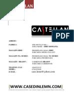 Catalog Case Lemn