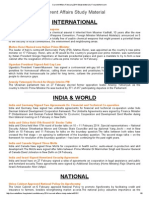 Current Affairs 2012-2014 Study Material