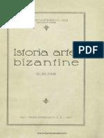 Istoria Artei Bizantine, P. Constantinescu, 1927