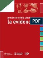 Intervenciones en Violencia