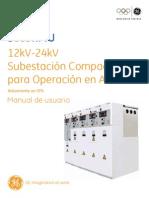 Subestación Compacta Para Operacion en Anillo Manual de Usuario