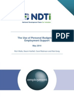 PBs and Employment Research Report v2 4th June 2014