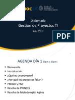 Gestión Proyecto - Clase 01 - Introduccion