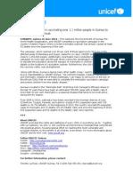 PRESS RELEASE- Meningitis Vaccination Campaign in Guinea