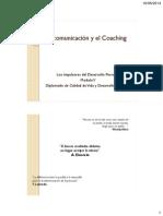 La Comunicación y El Coaching Mod.v. Dcv.