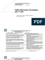 PLAN ANUAL 20134tecnologia 7º- 8º