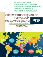 Transf. de Tecnologia 2013