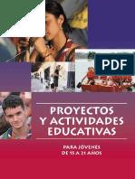 2366505 Proyectos y Actividades Educativas Para Jovenes de 15 a 21 Anos