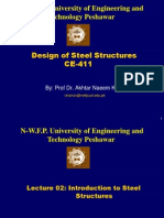 Lecture -2 Introduction to Steel Structures