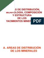1º Clase Areas de Distribución de Los Minerales 7-05-2012