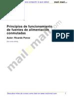 Principios Funcionamiento Fuentes Alimentacion Conmutadas 28076