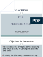 IRIS Bengkel Coaching for Performance (PowerPoint Presentation)