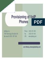 Sip Provisioning