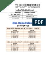 Express Bus Ticket (Template)