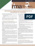 Tratamiento Farmacologico Enf. Alzheimer Infarma 13. Vol 4Nº 1pdf