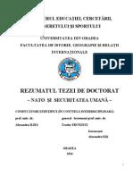 Kis Alexandru Rezumat Doctorat