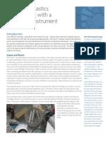 Plastics Recycling Identification Instrument