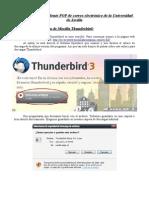 Configuracion Thunderbird Pop3