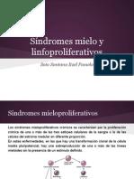 Sxmieloylinfoproliferativos