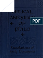 James. The biblical antiquities of (Pseudo-)Philo [S.P.C.K. Edition]. 1917.