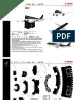 Papercraft Airbus A320 de Starflyer